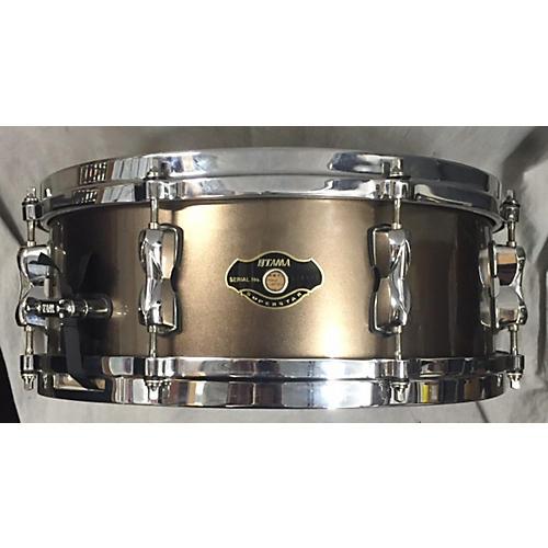 Tama 5.5X14 Superstar Snare Drum Gold 10