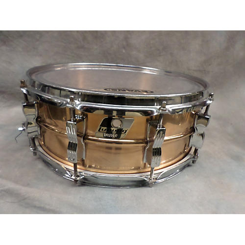 Ludwig 5.5X14 Vintage Bronze Snare Drum-thumbnail