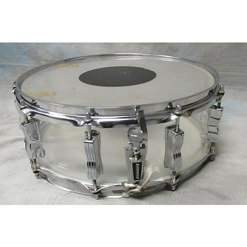 Ludwig 5.5X14 Vistalite Snare Drum Clear 10