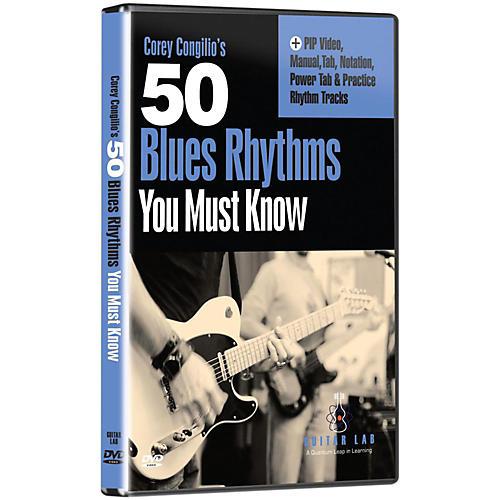 Emedia 50 Blues Rhythms You Must Know DVD-thumbnail