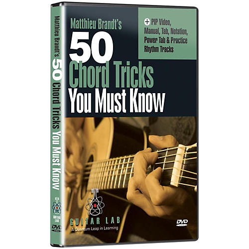 eMedia 50 Chord Tricks You Must Know DVD
