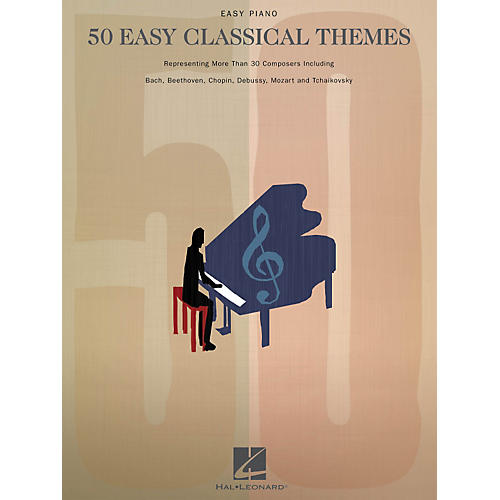 Hal Leonard 50 Easy Classical Themes For Easy Piano-thumbnail