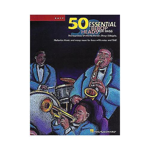 Hal Leonard 50 Essential Bebop Heads for Bass Book-thumbnail
