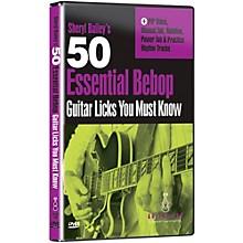 Emedia 50 Essential Bebop Licks You Must Know DVD