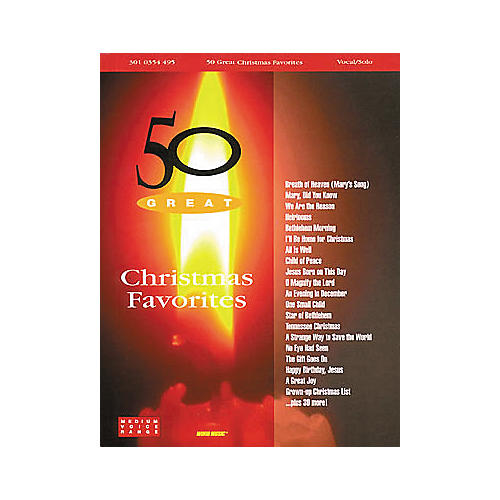 Word Music 50 Great Christmas Favorites Book