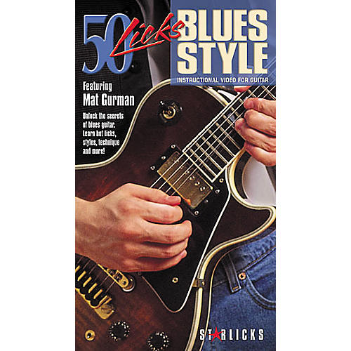 Hal Leonard 50 Licks Blues Style Video