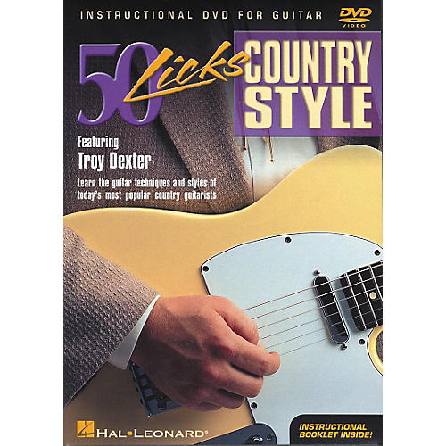 Hal Leonard 50 Licks Country Style DVD