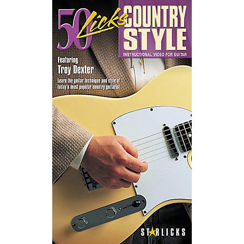 Hal Leonard 50 Licks Country Style (VHS)