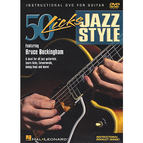 Hal Leonard 50 Licks Jazz Style DVD-thumbnail