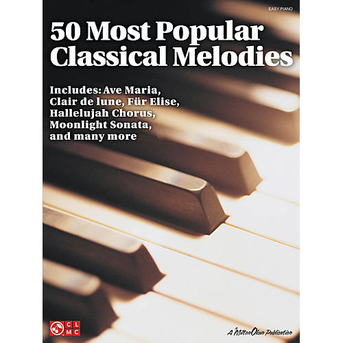 Cherry Lane 50 Most Popular Classical Melodies For Easy Piano-thumbnail