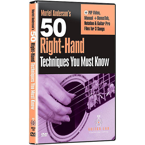 Emedia 50 Right Hand Techniques You Must Know DVD