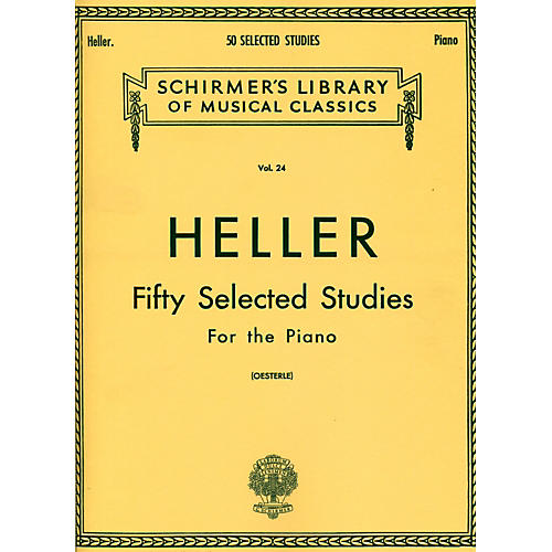 G. Schirmer 50 Selected Studies for Piano By Heller