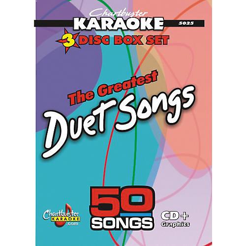 Chartbuster Karaoke 50 Song Pack Greatest Duet Songs