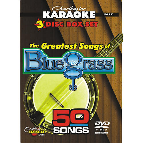 Chartbuster Karaoke 50 Song Pack Greatest Songs of Bluegrass-thumbnail