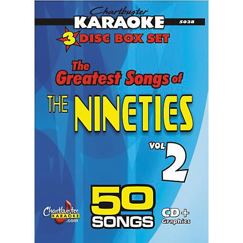 Chartbuster Karaoke 50 Song Pack Greatest Songs of the Nineties Volume 2
