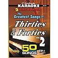 Chartbuster Karaoke 50 Song Pack Greatest Songs of the Thirties and forties Volume 2 (CD+G) thumbnail