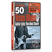 50 Texas Blues Licks You Must Know DVD