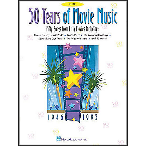 Hal Leonard 50 Years Movie Music for Flute-thumbnail