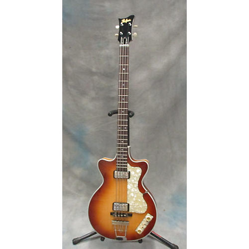 Hofner 500-2 Double Cut 1 Of 10 Limited Edition Hollowbody Electric Bass Guitar