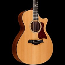Taylor 500 Series 512ce Grand Concert Acoustic-Electric Guitar Medium Brown Stain