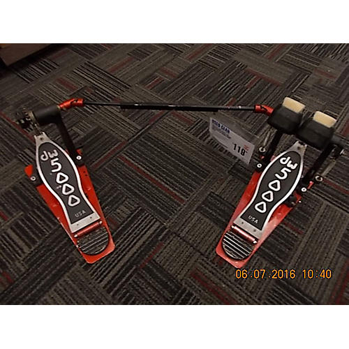 DW 5000 Series TD4 Turbo Drive Double Double Bass Drum Pedal