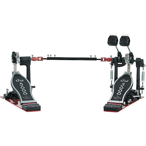 DW 5002TD3 Turbo Chain-Drive Double Pedal