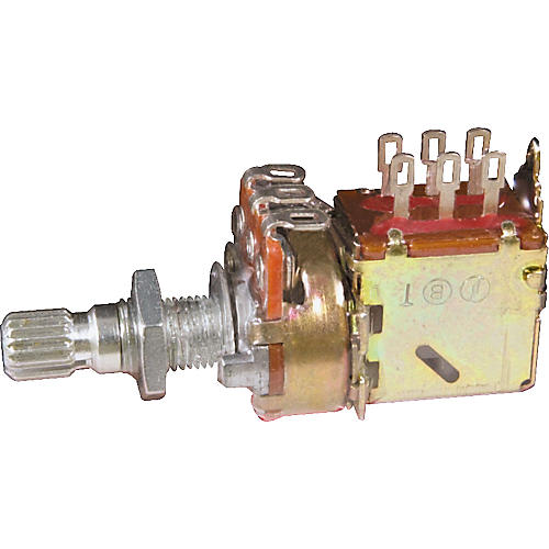 Gibson 500kOhm Potentiometer Audio Taper/Push-Pull/Short Shaft