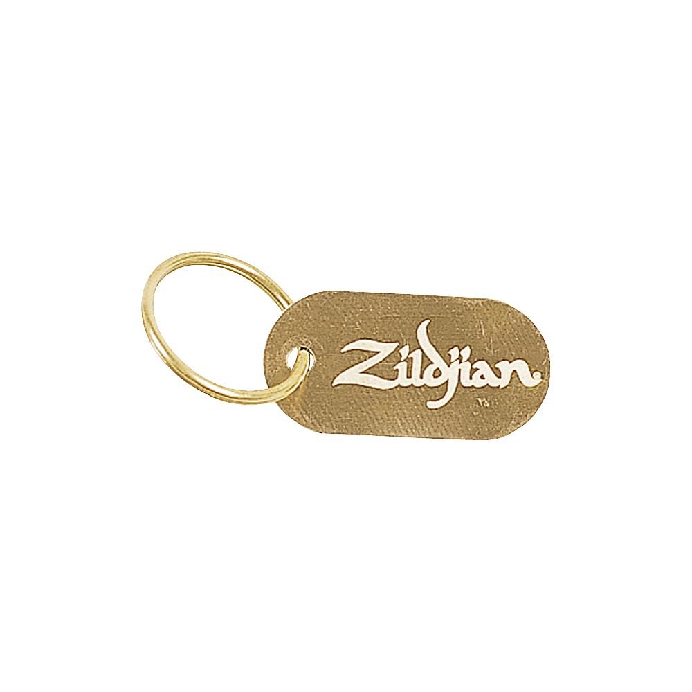 Zildjian Dog Tag Key Chain 1273887989821