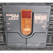 Zoom 504 Acoustic Effect Processor
