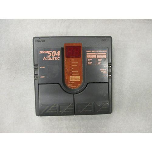 Zoom 504 Acoustic Effect Processor