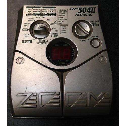 Zoom 504 II Acoustic Effect Processor-thumbnail