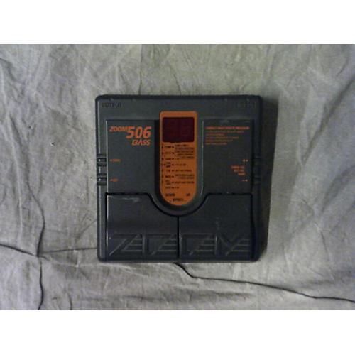 Zoom 506 BASS Effect Processor-thumbnail