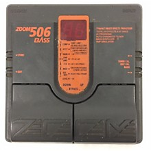 Zoom 506 Bass Bass Effect Pedal