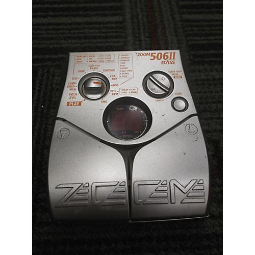 Zoom 506II BASS Bass Effect Pedal