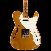 '50s Relic Thinline Telecaster - Custom Built - Namm Limited Edition Aztec Gold over Gold Sparkle