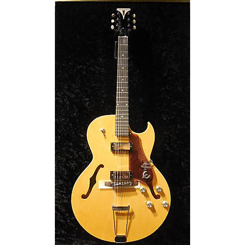 Epiphone 50th Anniversary 1962 Reissue Sorrento Antique Natural Hollow Body Electric Guitar