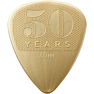 Dunlop 50th Anniversary Nylon Pick, .60mm 12 Pack by Dunlop