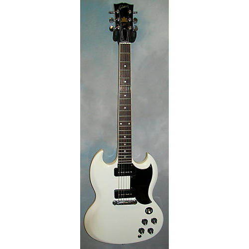 Gibson 50th Anniversary Pete Townshend Signature SG Solid Body Electric Guitar polaris white