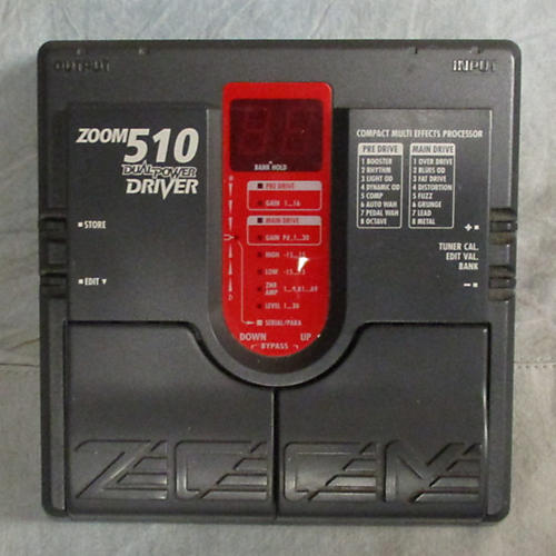 Zoom 510 Dual Power Driver Effect Processor