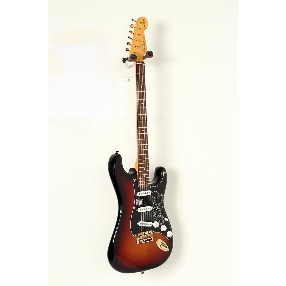 Fender Artist Series Stevie Ray Vaughan Stratocaster Electric Guitar 3-Color Sunburst 190839038289 510053005064026