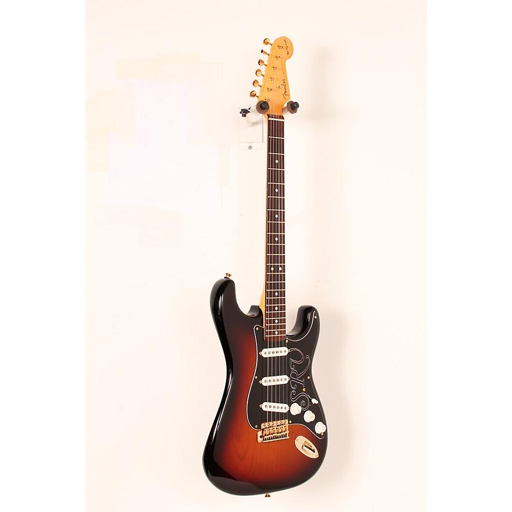 Fender Artist Series Stevie Ray Vaughan Stratocaster Electric Guitar 3-Color Sunburst 888366028254 510053005064031