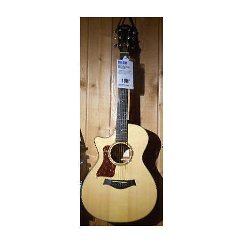 Taylor 512CE Left Handed Acoustic Electric Guitar Natural