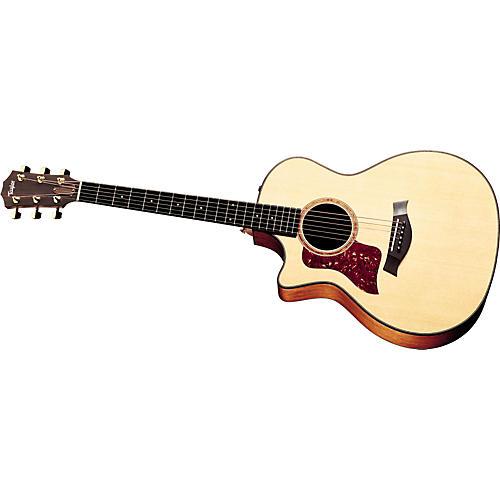 Taylor 514-CE Left-Handed Grand Auditorium Acoustic-Electric Guitar (2010 Model)-thumbnail