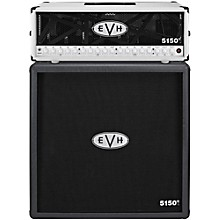 EVH 5150 III 100W Guitar Tube Head Ivory with 5150 III 412 Guitar Cab Black