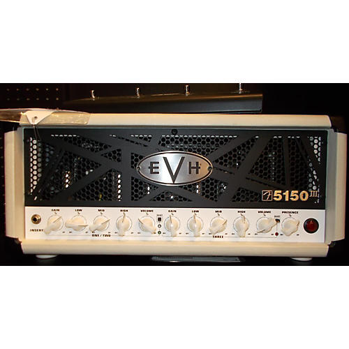 EVH 5150 III 50W Ivory Tube Guitar Amp Head-thumbnail