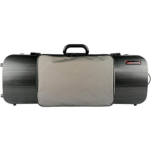 Bam 5202XL Hightech Compact Adjustable Viola Case with Pocket Black Lazure