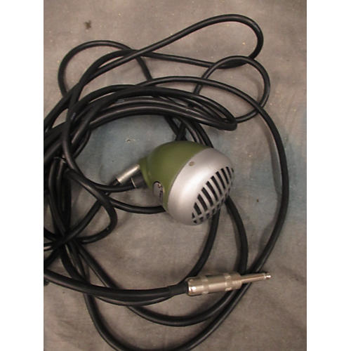 Shure 520DX Green Bullet Dynamic Microphone