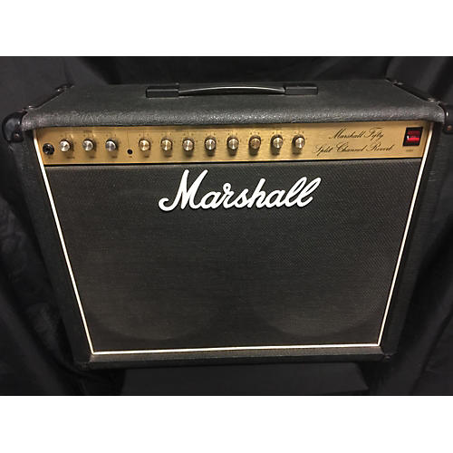 Marshall 5212 50W SPLIT CHANNEL REVERB Guitar Combo Amp