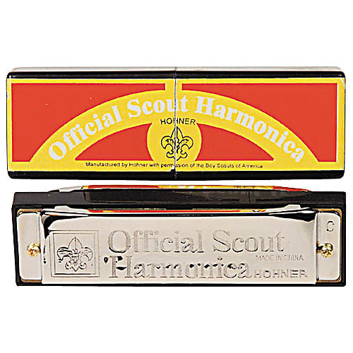 Hohner 530/20 C Official Scout Harmonica-thumbnail