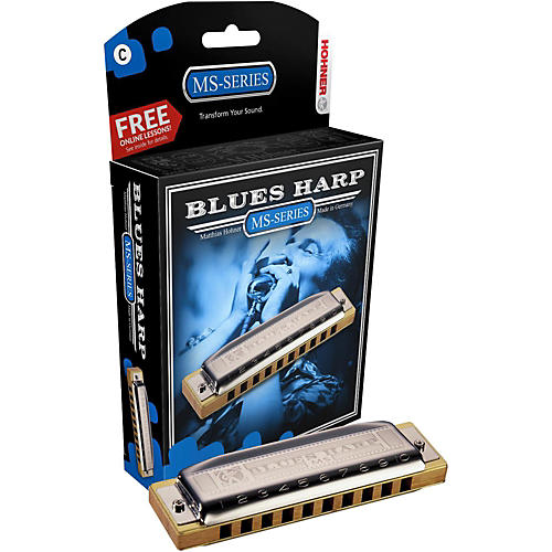 Hohner 532 Blues Harp MS-Series Harmonica A